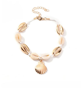 'Cowrie' Anklet