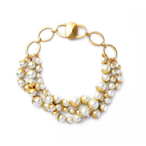 Charlette Pearl Necklace