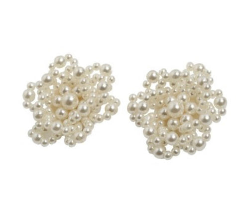 'Cicely' Oversized Pearl Studs