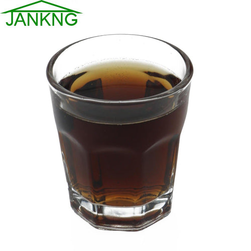 JANKNG 45ml Crystal Whiskey Glass Cup Handmade Heatproof Shot Glass Spirits Vodka Drink Cup Liquor Alcohol Goblet Whisky Glasses