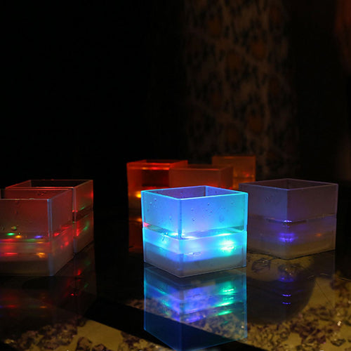Water Induction Light-up Shot Glasses Led Multi-Color Drinking Cup Barware