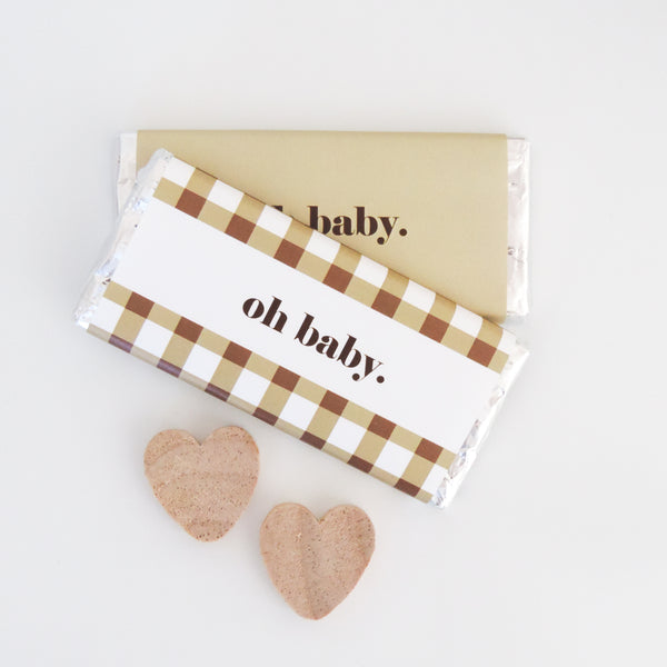 Chocolate Bar Wraps Gingham Dreams | Emma Smith