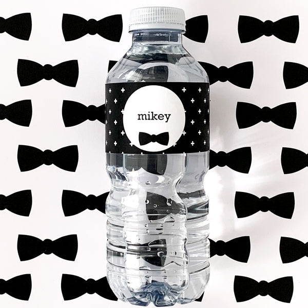 Little Man Printable Download Water Bottle Emma Smith Stationery