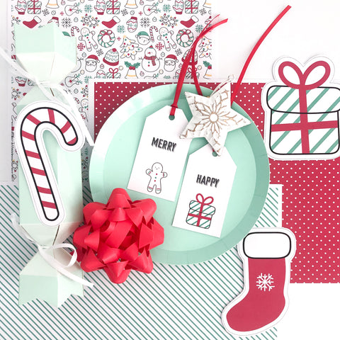 Cute Christmas Printables for Paper Crafts and Decorations
