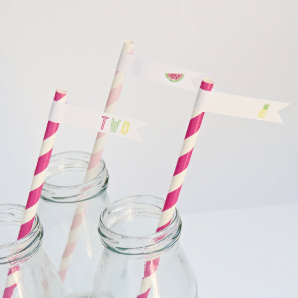 Straw Flags Download Emma Smith Event Stationery