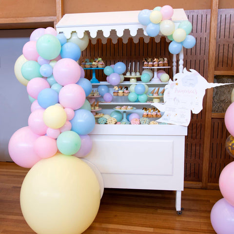 Emma Smith Event Stationery | Pastel unicorn party styled by Maryanne Muscat Events