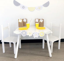Yellow Daisy Cute Party Set Up Decoration Printable Download