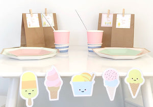 Sorbet For Days - Scallop Bunting Pack
