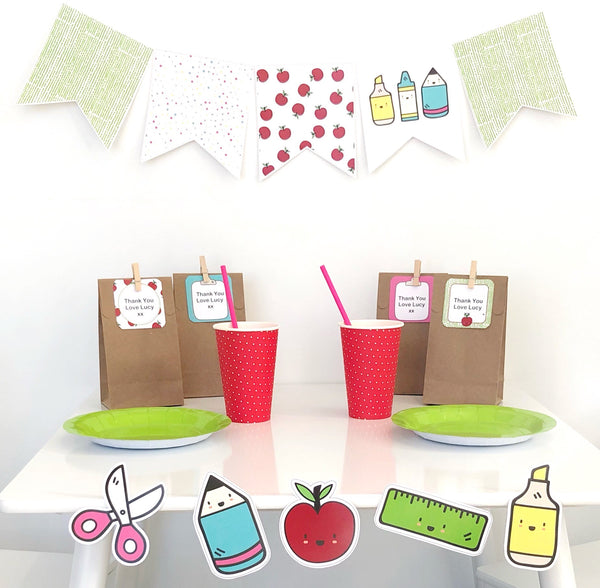Bright Fun Classroom Decor Printable Bundle Set Up