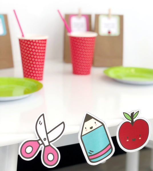Bright Fun Classroom Decor Printable Cut Outs