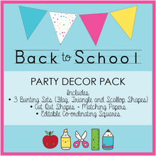 Bright Printable Party Decorations Download