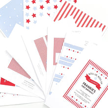 Circus Carnival Themed Invitation Printable Download Template | Emma Smith Event Stationery