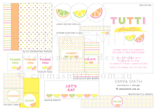 Fruit Themed Party Digital Download Printable Package