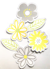 Yellow Daisy Classroom Decor Pack Printable Download Cut Outs