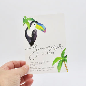 Emma Smith Event Stationery Summer Invitation 3