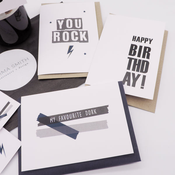 For The Guys Greeting Card Bundle