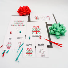 Christmas Cards Bright and Fun Set with Gift Tags | Emma Smith Event Staitonery