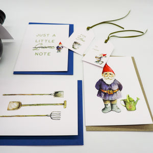 Gnome-o Gnome-o Greeting Card Bundle