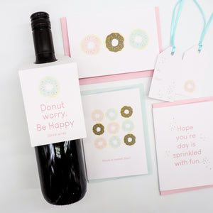 I Donut Know Greeting Card Bundle