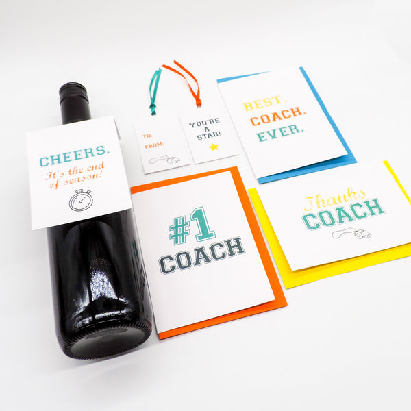 Yes Coach Greeting Card Bundle
