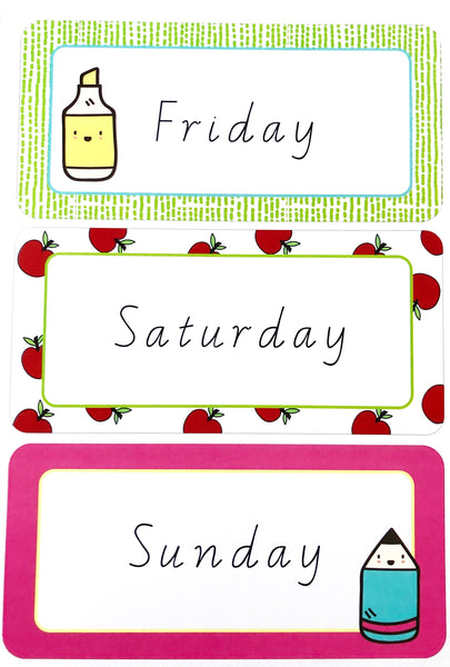 Bright Fun Classroom Decor Printable Days Of The Week