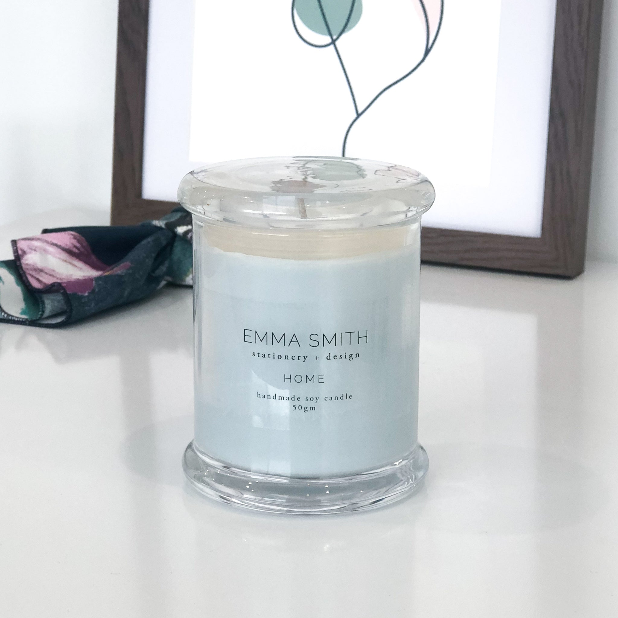 Soy Candles Handmade | Emma Smith Stationery and Design