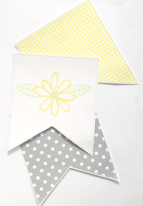 Yellow Daisy Classroom Decor Pack Printable Download  Bunting