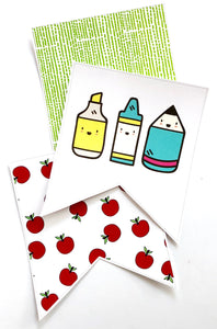 Back to School - Flag Bunting Pack