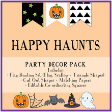 Halloween Party Printable Decor Download