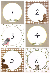 Australian Classroom Decor Theme Printable Numbers