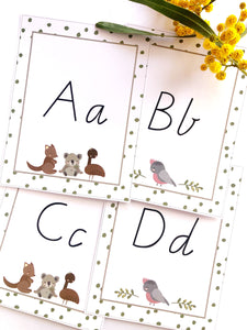 Australian Classroom Decor Theme Download Alphabet Cards