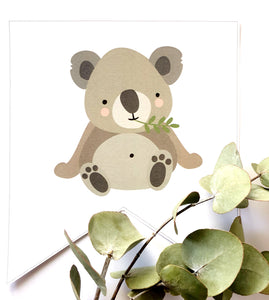 Australian Themed Party Download Printable Bunting Koala