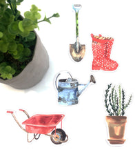 Gardening Party Decorations Download Printable Cut outs