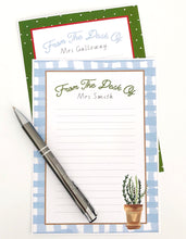 Gardening Teacher Stationery Theme Download Printable Note Paper