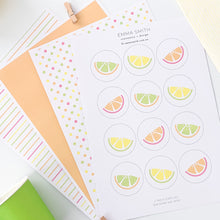 Fruit Themed Party Digital Download Printable
