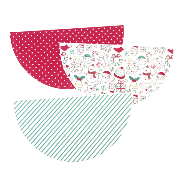 Christmas Decor Printable Download Cute and Bright Bunting Flag