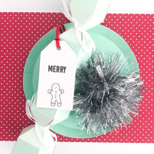 Fun and Bright Christmas Gift Tags