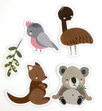 Australian Themed Party Download Printable Cut Out Animals