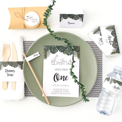 Safari Luxe - All Inclusive Party Decor Bundle