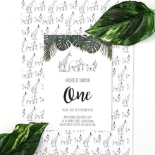 Safari Party Digital Download Printable Party Invitation | Emma Smith Stationery