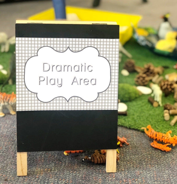 Walker Learning Investigation Areas Printable Download Dramatic Play