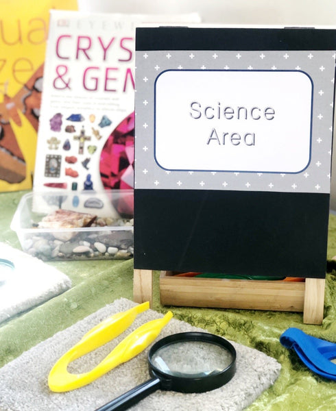 Walker Learning Science Investigation Areas Printable Download