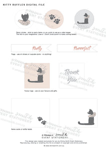 Emma Smith Event Stationery Kitty Ruffles Digital File5