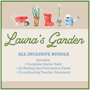 Gardening Classroom Decor Theme Download Printable Bundle