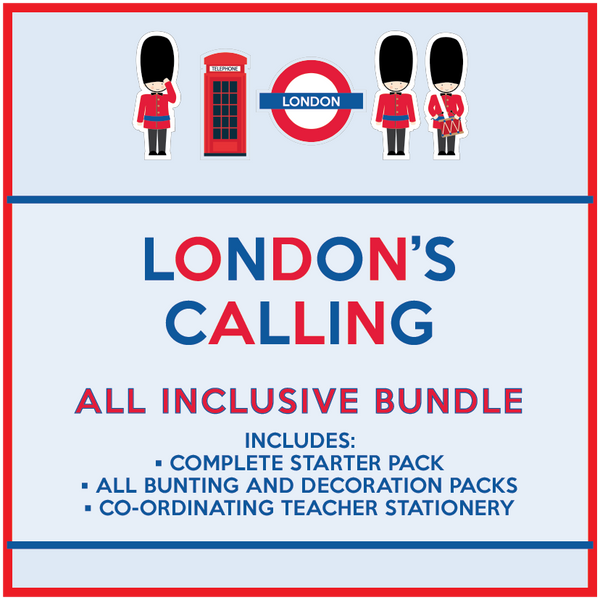 London's Calling - All Inclusive Classroom Decor Bundle