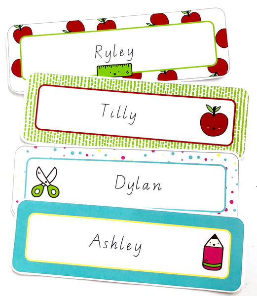 Bright Classroom Decor Printable Download Name Labels