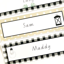 Farmhouse Theme Classroom Decor Printable Download Name Tags