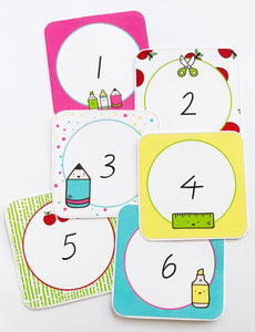 Bright Fun Classroom Decor Printable Numbers