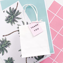 Palm Springs  | All Inclusive Party Decoration Printable Favour Tag Download | Emma Smith Event Stationery