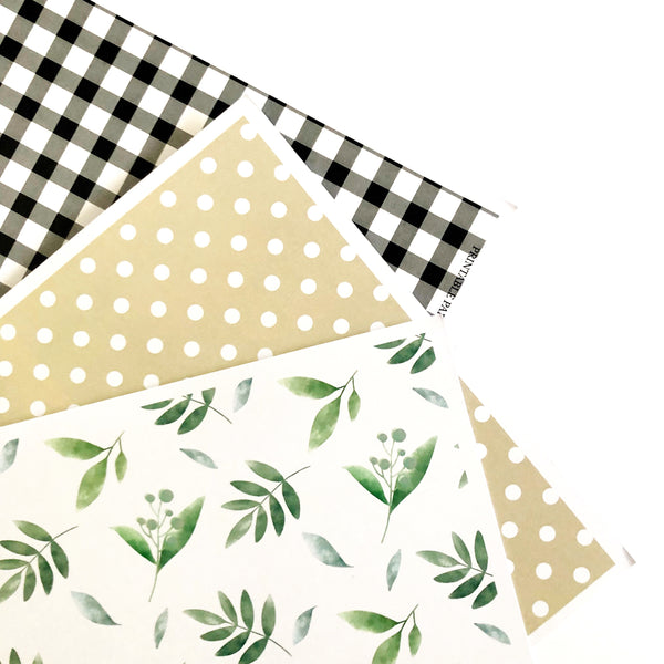 Farmhouse Theme Printable Download Party Decorations papers